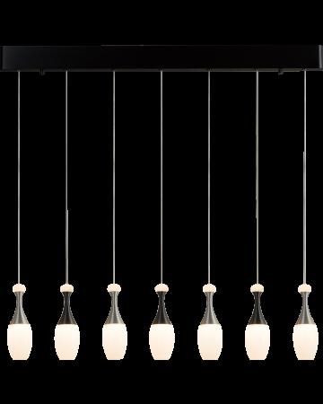 La Botella Series Pendant - Linear 7 light