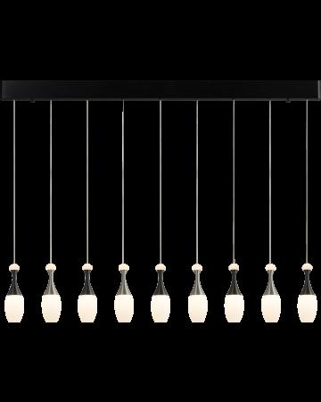 La Botella Series Pendant - Linear 9 light