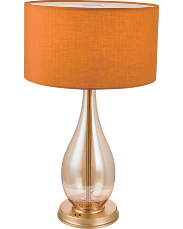 Fabio Series Table Lamp -  Orange