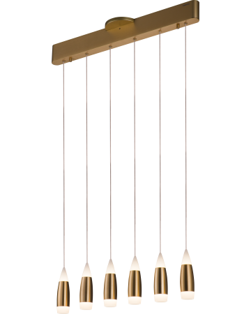 Tear Series Pendant - 6 Light - Remote Control Dimming
