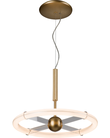 Orbit Series Pendant - Round 20