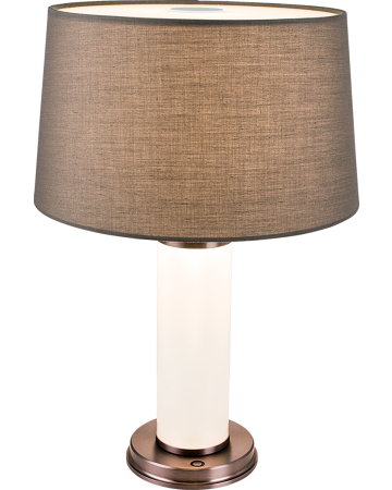 Quintas Series Table Lamp - Brown