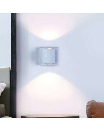 Lighthouse 1-Light LED Wall Sconce - Grey