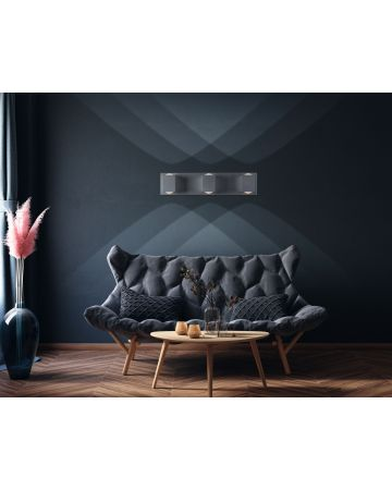 Lighthouse 3-Light LED Wall Sconce - Grey