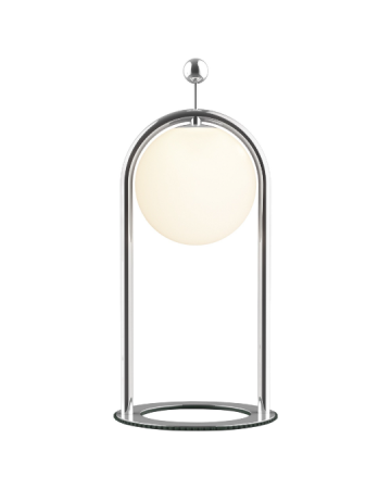 Linglong L Table Lamp in Chrome