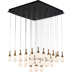 La Botella Series Pendant - Square 36 Light